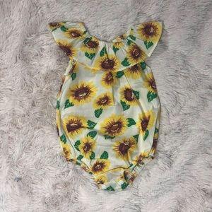 sunflower bodysuit